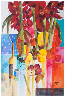 ''Luscious Colours'' Watercolours