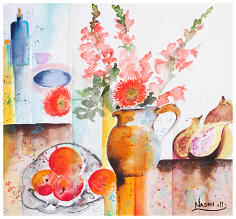 ''Figs and Things'' Watercolour